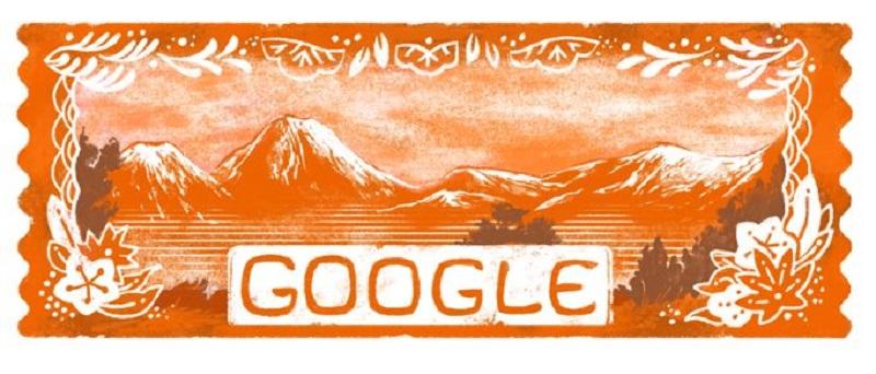Google Doodle zum Tag der Berge