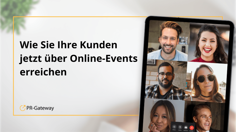 Online-Events im Business