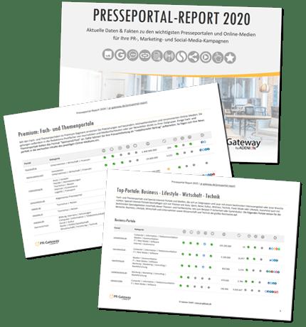 Presseportal Report 2020