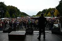 """Demonstration in Berlin: """"Stop iWright"""" schließt sich """"Freiheit statt Angst"""" an"""