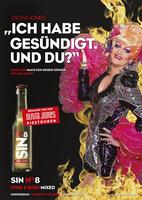 Deutschlands berühmteste Dragqueen Olivia Jones verführt zur achten Sünde