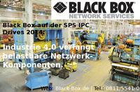 showimage Black Box auf der SPS IPC Drives 2014: Industrie 4.0 verlangt belastbare Netzwerk-Komponenten