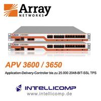 APV3650 von Array Networks unterstützt bis zu 25.000 SSL-Transaktionen pro Sekunde