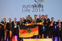showimage Fünf Goldmedaillen für Team Germany bei EM der Berufe in Lille