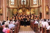 Benefiz-Chorkonzert auf Kloster Jakobsberg mit dem SonntagsChor Rheinland-Pfalz