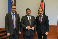showimage BITMi-Spitze trifft Bundeswirtschaftsminister SigmarGabriel