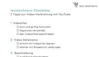 showimage textzeichnerin Checkliste: Tipps zur Video-Verbreitung
