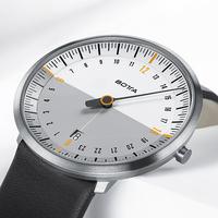 showimage Botta-Design präsentiert 24-Stunden Einzeigeruhr UNO 24 NEO
