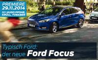 Premiere des neuen Ford Focus bei den Fordpartnern Hamburg