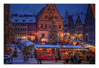 Rothenburg im Wintertraum