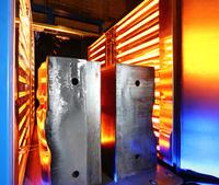 showimage Infrarot-Strahler beschleunigen die Herstellung von Flugzeugkomponenten - Vorwärmen von Werkzeugen mit Infrarot-System spart zudem Energie
