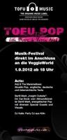 Der Countdown läuft –  Tofu Pop Festival feiert Premiere zusammen mit der ersten Düsseldorfer VeggieWorld