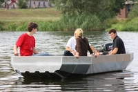 showimage Angelboot aus Alu PonTOM® Defender 5.60 mit breitem Bug