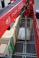 Mit Fassi Ladekrane kam auch eine neue Ladungssicherung