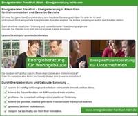 Energieberatung Frankfurt: Qualifizierte Berater klären Hausbesitzer vor Ort auf