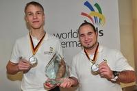 showimage Die Roboter-Champions - Erfurter Team verteidigt  Deutschen Meistertitel und löst die Tickets zur Berufe-WM