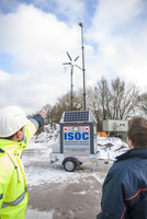 Sicherheitssystem ISOC®:  Grüne Energie für mobile und autarke Baustellenbewachung