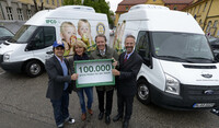 IFCO unterstützt Logistik der Münchner Tafel e.V.