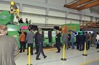 showimage GEORG werkzeugmaschinen präsentiert erste Walzenschleifmaschine