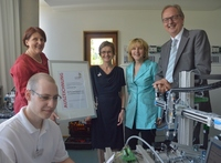 Einweihung des neu ausgestatteten Elektrolabors / Bundesleistungszentrums Mechatronik am Standort Esslingen der Landesakademie
