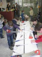showimage Der kreative Kindergeburtstag in einer Steinmetzwerkstatt