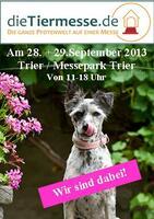 DieTiermesse.de zu Gast in Trier-am 28./29.9.2013 im Messepark