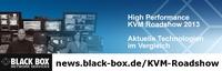 KVM-Systeme selbst testen: Kostenfreie Workshops und Live-Demos auf der Black Box KVM Roadshow, 5.-13.11.2013