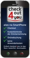 checkout4you – Weltpremiere – checkout via Smartphone