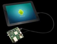 """element14 stellt kapazitives """"Multi-Touch"""" LCD-Modul für SABRE Lite und MarS Entwicklungsboards vor"""