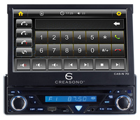 "showimage Creasono 7"" Touchscreen DVD-Autoradio CAS-N 70"
