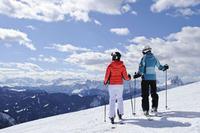 Schnee gibt es reichlich – südlich des Alpenhauptkammes