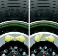 showimage Sicherheit fährt mit - Radmutterindikatoren von TS