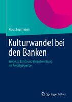 Steuerung von Banken: Ethische Ziele müssen integriert werden