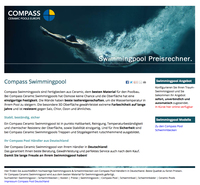 showimage In den Sommer mit Compass Ceramic Pools