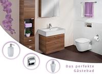 Das perfekte Gäste WC mit Skybad