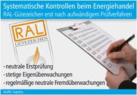 Systematische Kontrollen beim Energiehandel