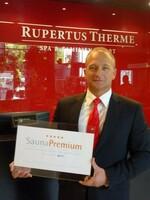 Qualitätsauszeichnung des Deutschen Sauna-Bundes für die RupertusTherme