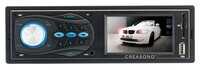 """showimage Creasono 1-DIN-Autoradio CAS-3310BT mit 3""""-TFT-Display, BT & RDS"""