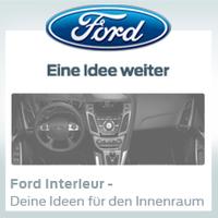 Ideenwettbewerb von Ford: Autofahrer können den Innenraum selbst gestalten