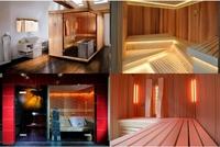 Sauna in Massivbauweise