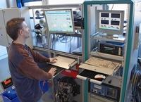 OWI testet Brennstoffe und misst Wirkungsgrade
