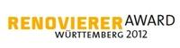 Mitmachen und gewinnen beim Renovierer-Award Württemberg 2013