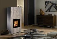 Spartherm: Erhabene Schönheit, wohltuende Wärme: Ein Monolith aus Speckstein