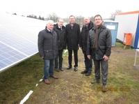 Der Schalter ist umgelegt. Solarpark Deponie Westerwiehe I ist erfolgreich  in Betrieb gegangen !