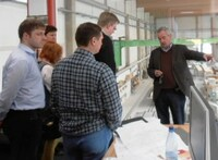 Ukrainische Delegation besucht Otto Baukmeier im Meisterstück-Haus