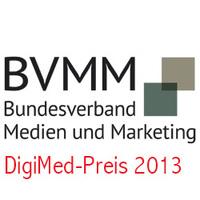 Call for Paper: Bundesverband Medien und Marketing prämiert beste Marketingkampagne - Deutscher DigiMed Preis 2013