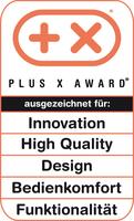 Fitbit The One für Innovation, High Quality, Design, Bedienkomfort und Funktionalität vom Plus X Award ausgezeichnet