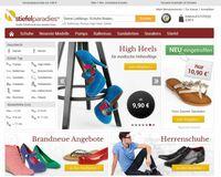 stiefelparadies.de - Relaunch des Onlineshops für Schuhe