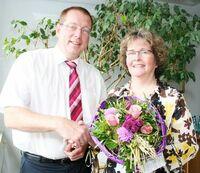30-jähriges Dienstjubiläum am 1. September 2013 bei der Rüsselsheimer Volksbank eG