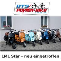 Klassisches Rollerfahren - LML Start